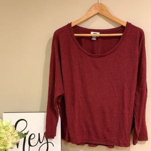 EUC | Old Navy Crew Neck Dolman Top